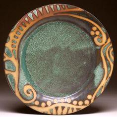 nice wax resist design on rim