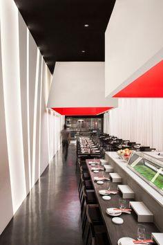 Yojisan Sushi, Los Angeles, by Dan Brunn Architecture.  #charlesdiago #charlesmitchem