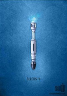 Minimalist tenth Doctor poster.