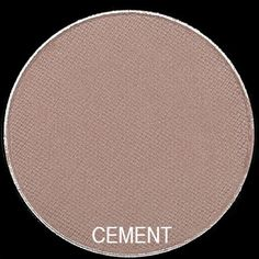 "Bobbi Brown Eyeshadow ""Cement"" – A grey beige (cool-toned). Just a tad bit darker than Wheat."