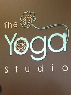 Someday I want to own a yoga studio / teach yoga