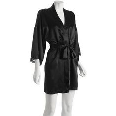 Short Silk Robe