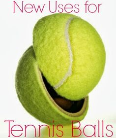 Six new uses for tennis balls | www.inspirationformoms.com #sixonsaturday #newusesforthings #tennisballs