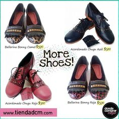 Donde Comprar Mejor ¡Más y más zapatos para que estés divina todo el tiempo!  Conseguilos en www.tiendadcm.com/products/list/brand/21140