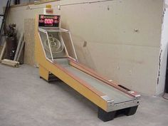 I am definitely building my own Skee Ball.
