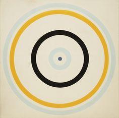 Turnsole  Kenneth Noland, 1961 Round n Round in Circles http://decdesignecasa.blogspot.it