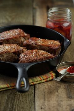 Pan Fried Chops by bgouldphotography, via Flickr