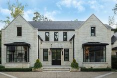 An Atlanta residence blends traditional detailing with modern simplicity