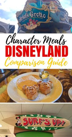 The Ultimate Guide to Disneyland Character Meals - Traveling Mom Want to dine with Mickey and pals on your next Disneyland vacation? Get the scoop on all 5 Disneyland character meals from a mom and frequent Disneyland visitor who has tried them all! Disney California Adventure, Disneyland California, California Trip, Anaheim California, Disney Planning, Disney Tips, Disney Food, Disney 2017, Disney Theme