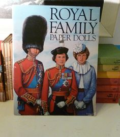 Royal Family Paper Dolls by MAIDENSHOP on Etsy, $24.23