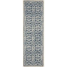 Cathay Rug in Navy Blue