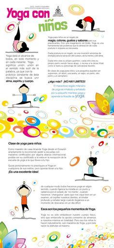Yoga con Niños. Gracias maestro Dante R. Echevarria de Ananda Yoga desde el Corazón