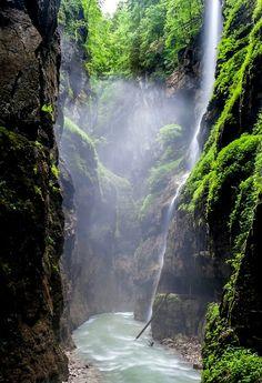 Andreas Pueschel, photographer, Partnach Gorge, Germany.
