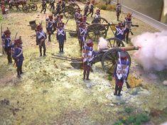 Batteria di artiglieria francese