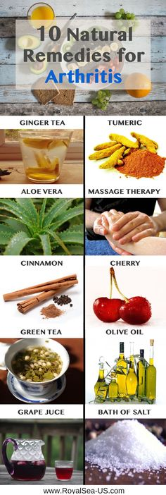 Arthritis Diet Treatment- 10 Natural Remedies for Arthritis and Joint Pain. Arthritis appears when your joints get out of cartilage. To help you endure it, here are 10 natural remedies for arthritis. They reduce joint pain and arthritis.