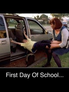 First Day Of School...