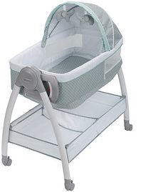 Shop for Graco® Pack 'n Play® Dream Suite™ Bassinet, Lullaby. Get free delivery On EVERYTHING* Overstock - Your Online Baby Furniture Shop! Adaline, Best Bassinet, Bassinet Ideas, Bedside Bassinet, Bedside Sleeper, Siege Bebe, Changing Spaces, Moise, Large Storage Baskets