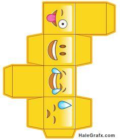 Doosje geel heel leuk 3d Paper Crafts, Paper Toys, Diy Paper, Paper Art, Diy And Crafts, Crafts For Kids, Diy Gift Box, Diy Box, Handmade Gifts For Friends