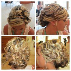 Wedding hair by Traci Almond