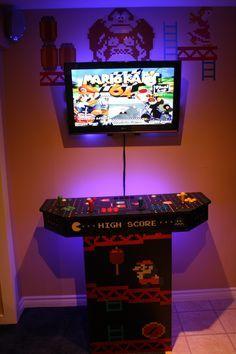 Custom MAME Arcade running Hyperspin emulator