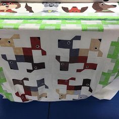 Tooo cute! On the longarm! Long arm quilting services avai…   Flickr