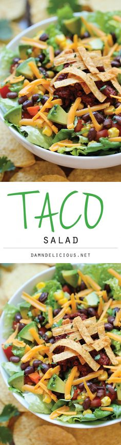 Mexican salad - lettuce, lime juice, chorizo, tomatoes, onion, cucumber, green salsa