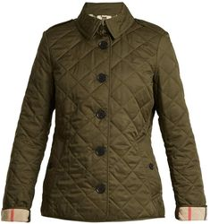 Frankby quilted jacket #references#highlight#military