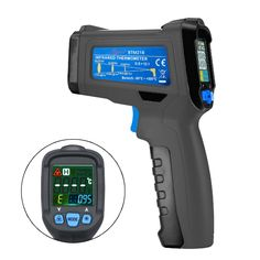 (27.96$)  Buy here - http://aivt5.worlditems.win/all/product.php?id=32704526240 - 0.10~1.00 Emissivity Non-contact Infrared Thermometer Color Handheld  Liquid Crystal Display Digital K Type Thermometer
