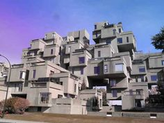 awesome creative ideas for buildings have fun there are 10+ in photo this is Habitat 67, Montreal