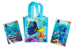 Finding Dory Hair Accessory Set / Bundle: Brush, Barrettes, Ponytail Holders and Hairband in Coordinating Tote Bag ** Want to know more, click on the image. (This is an affiliate link and I receive a commission for the sales)