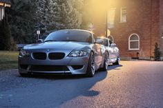 Dubsesd's TiAg M Coupe along with a Space Gray M Coupe. Bmw Z4 M, Supercar, Saga, Dream Cars, Envy, Rabbit, Wheels, Inspiration, Cars