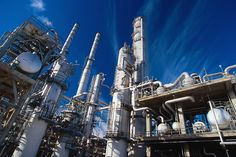 Chemical plant drones inspection