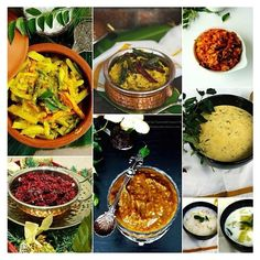 A compilation of some of the popular dishes that form a part of the Onam feast....link in bio. #thespiceadventuress #onam #recipe #collection
