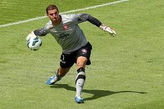 Goalkeeper Ante Covic of Western Sydney Wanderers. Professional Football, Referee, Goalkeeper, Wander, Westerns, Sydney, Soccer, My Love, Football