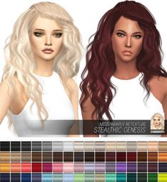 Miss Paraply: Stealthic Genesis: Solids • Sims 4 Downloads