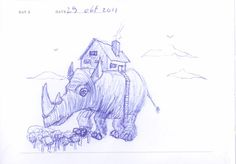 Doodle 002: Mobile home
