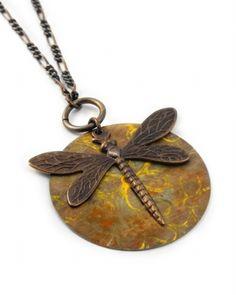 Vintaj Pendant - I really like the dragonfly