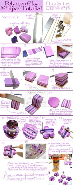 Striped cane tutorial