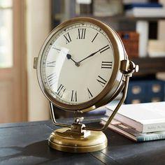 Vintage Design Ships Clock