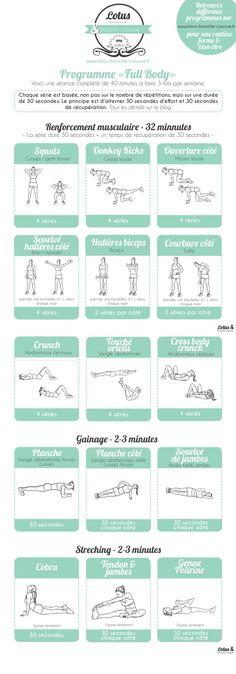 """programme fitness « Full Body » à la maison…. fitness « Full Body » à la maison…."""" http://senada.info/programme-fitness-full-body-a-la-maison/"""