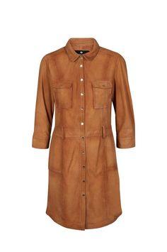 Hunter Leather Dress