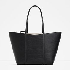 ZARA - COLLECTION AW16 - REVERSIBLE TOTE