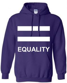 LGBT GIFT HOODIE: Youth Teen Equality Lgbt Pride  by ALLGayTees