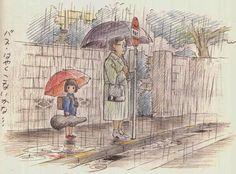 Generation Ghibli 'Futo furikaeru to', the art of Yoshifumi Kondo (II)