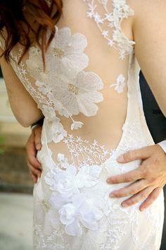 Rustic and Romantic Park City Wedding   wedding dress   Pepper Nix Photography