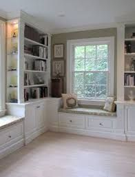 Image result for HOUZZ.COM LIBRARY WINDOWSEAT DESIGN IDEAS