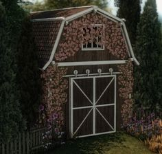 ✿Roli Cannoli CC Findz Corner✿ — aggressivekitty: AGGRESSIVEKITTY: FUNCTIONAL... Cottage Living, Country Living, Sims Building, Sims 4 Update, Sims 4 Cc Finds, Rustic Barn, Gazebo, Shed, Outdoor Structures