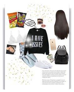 """You've got em' too//🔥"" by queen-bellaa ❤ liked on Polyvore featuring Nevermind, Witchery, Monki and adidas"