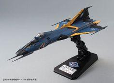Space Battleship Yamato 2199 1/72 Cosmo Falcon Shinohara Custom Plastic Model - import figurines Mangas
