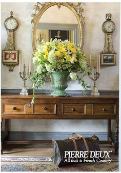 Pierre Deux French Country  ~ foyer ~